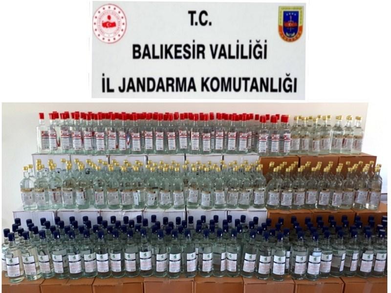 Jandarmadan 'etil alkol' operasyonu