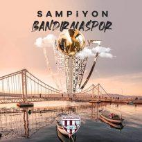 KAYMAKAM'DAN ŞAMPİYON BANDIRMASPOR'A TEBRİK MESAJI