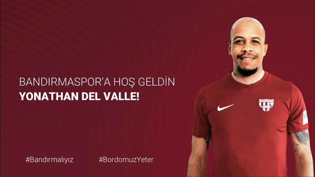 Yonathan Del Valle Bandırmaspor da