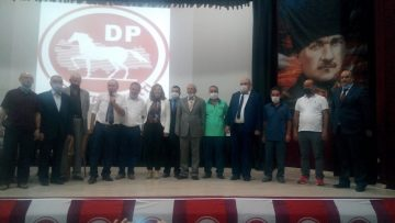 DEMOKRAT PARTİ BANDIRMA,ÖZTUNA'YA TESLİM