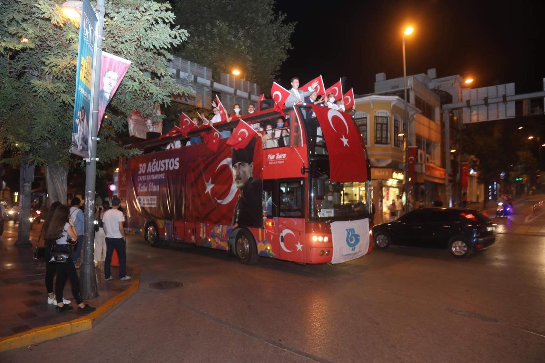 """30 AĞUSTOS """"ZAFER TURU"""" DÜZENLENDİ"""