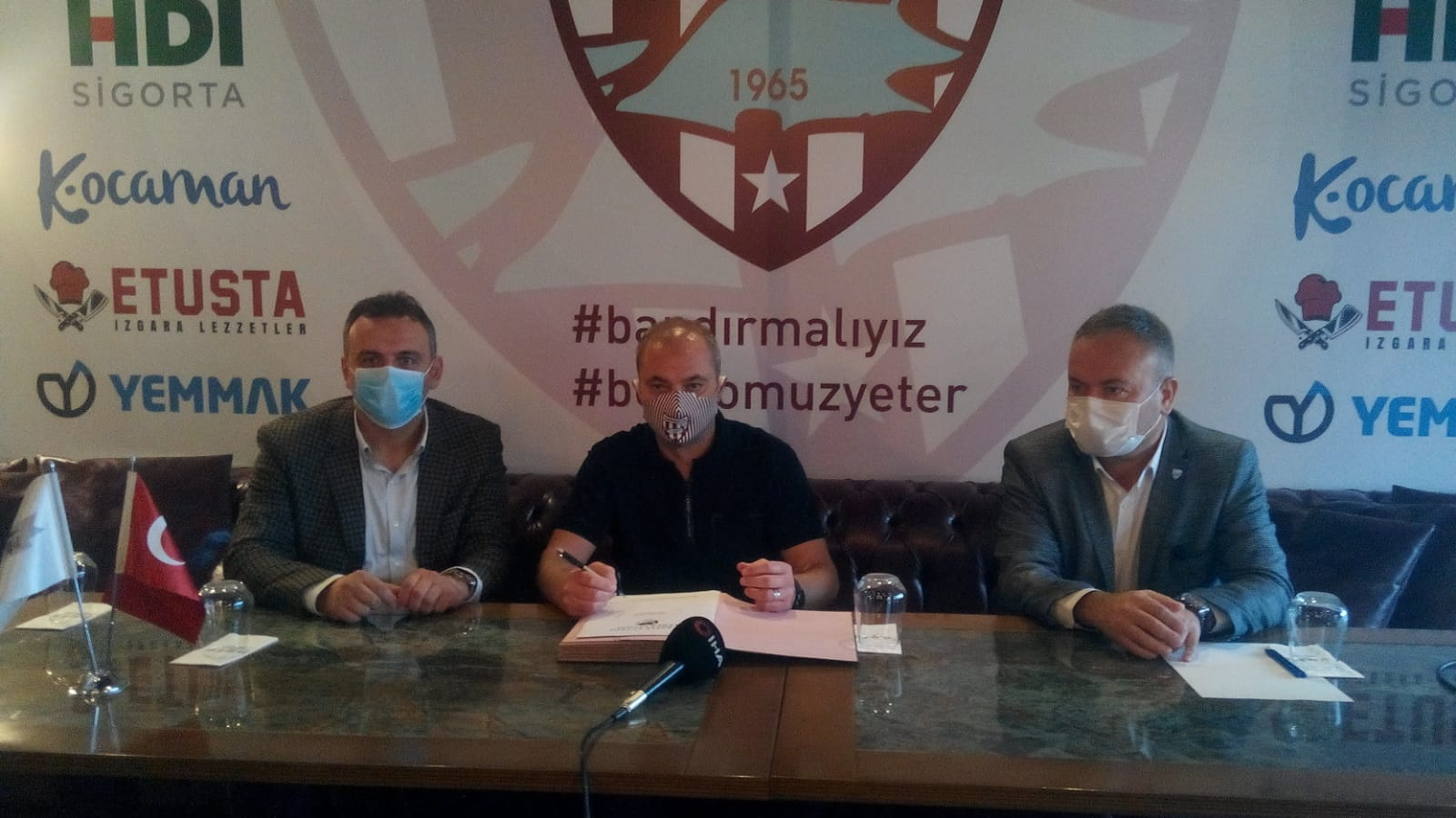 Erkan Sözeri ile sözleşme imzalandı