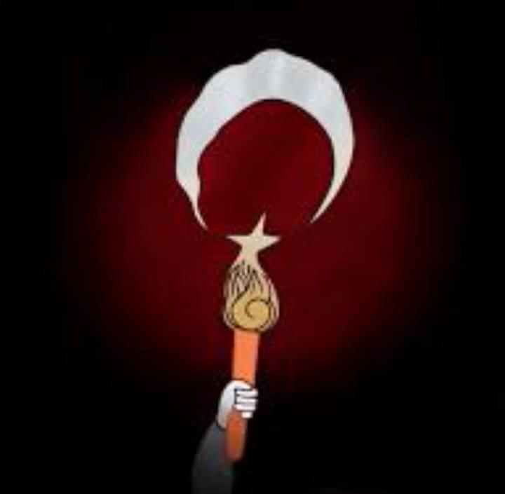 CHP'DEN FARKLI BİR FENER ALAYI MEŞALELERLE TÜRK BAYRAĞI FİGÜRÜ