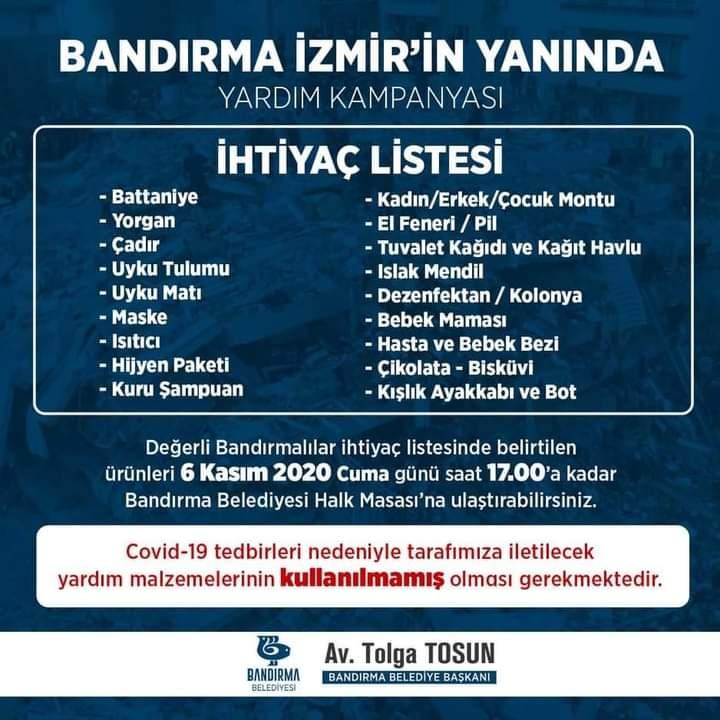BANDIRMA, İZMİR'İN YANINDA