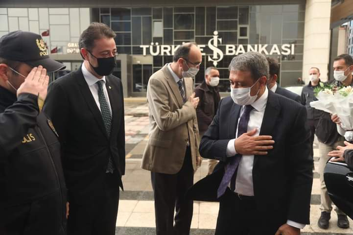 VALİ ŞILDAK BANDIRMA'DA