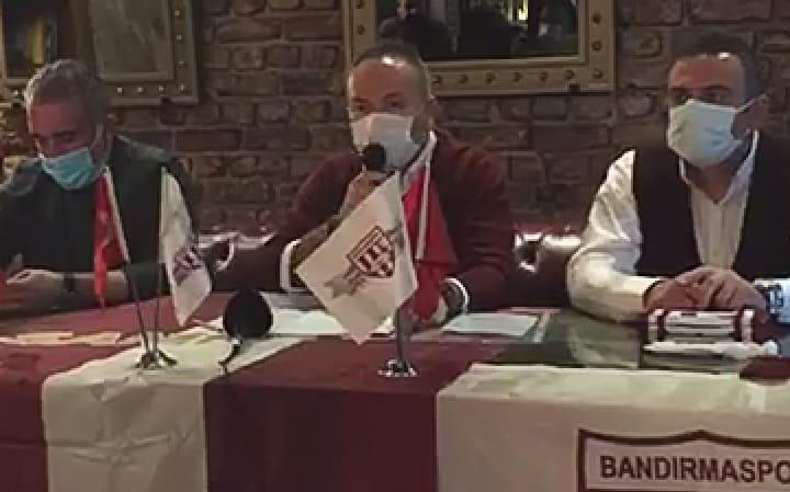 BANDIRMASPOR'DAN DEĞERLENDİRME BASIN TOPLANTISI
