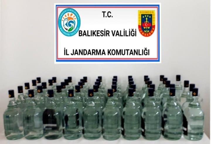 YILBAŞI ARİFESİ KAÇAK ALKOL OPERASYONU