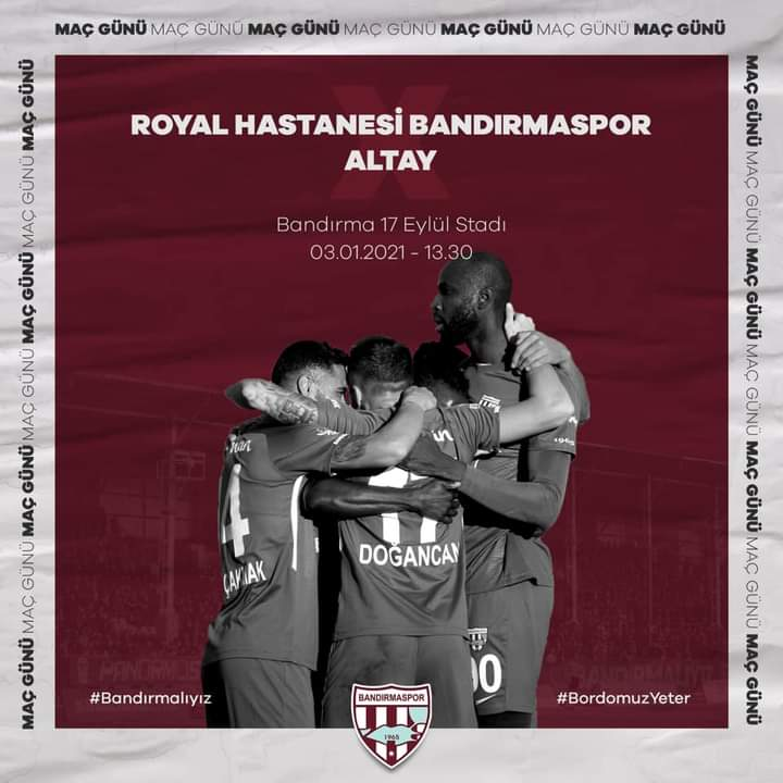 Bandırmaspor, Altay'ı konuk ediyor