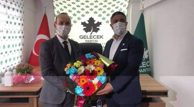 CHP'DEN, GELECEK PARTİSİ'NE GEÇMİŞ OLSUN ZİYARETİ