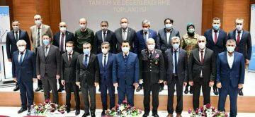 ÜNİVERSİTE'DE DEĞERLENDİRME TOPLANTISI
