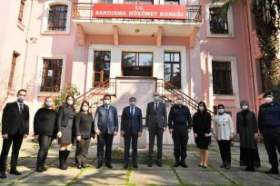 VALİ ŞILDAK, BANDIRMA'DA